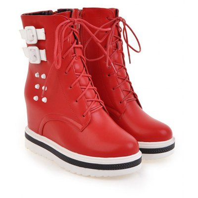 Womens Chic Thick Heel Platform Side Zipper Buckle Ankle BootsWomens Boots<br>Womens Chic Thick Heel Platform Side Zipper Buckle Ankle Boots<br><br>Boot Height: Ankle<br>Boot Tube Height: 20<br>Boot Type: Riding/Equestrian<br>Closure Type: Zip<br>Embellishment: Rivet<br>Gender: For Women<br>Heel Height: 7.5<br>Heel Height Range: High(3-3.99)<br>Heel Type: Increased Internal<br>Package Contents: 1 x Shoes(pair)<br>Pattern Type: Solid<br>Platform Height: 3<br>Season: Spring/Fall, Winter<br>Toe Shape: Round Toe<br>Upper Material: PU<br>Weight: 1.6588kg