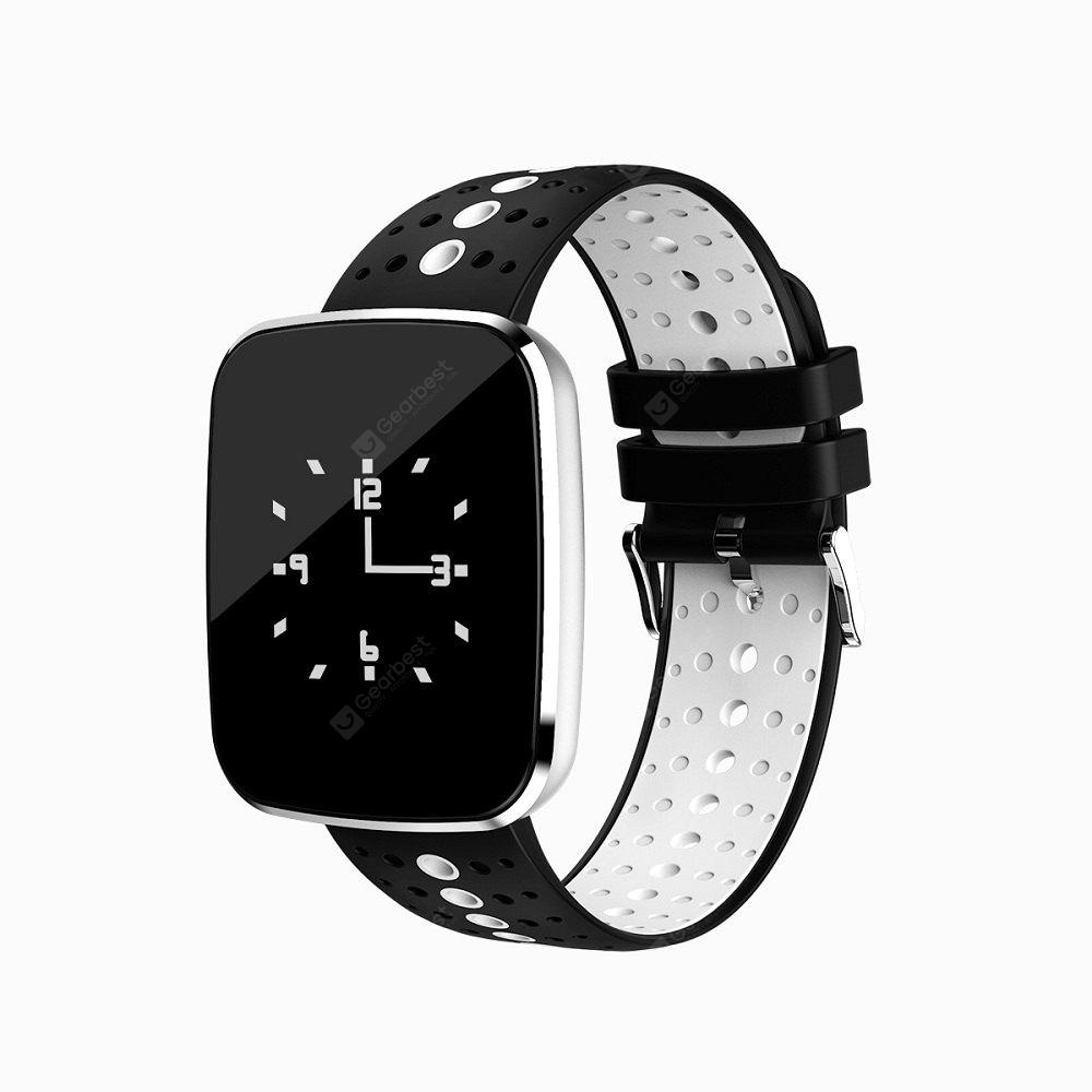 V6 Sports Wristband Heart Rate Monitor Phone Call Reminder Bluetooth Watch for Android / iOS