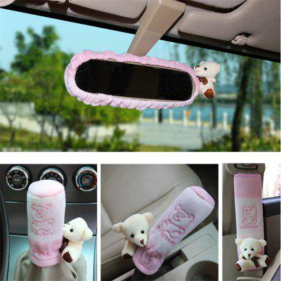 5pcs Cartoon Bear Design Cute Creative Car Decorative Cover CasesCar Ornaments &amp; Pendant<br>5pcs Cartoon Bear Design Cute Creative Car Decorative Cover Cases<br><br>Material: Cloth, Cotton<br>Package Contents: 5 x Car Decorative Cover<br>Package size (L x W x H): 38.00 x 20.00 x 8.00 cm / 14.96 x 7.87 x 3.15 inches<br>Package weight: 0.3000 kg<br>Product weight: 0.1000 kg