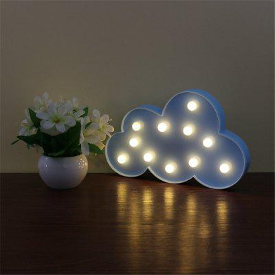 Decorative Light Cute Clouds Shape Night Lamp