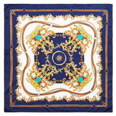 Buy CADETBLUE 2017 Luxury Women Satin Silk Scarf Fashion Print Small Square Scarves for $28.90 in GearBest store
