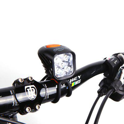 Magicshine MJ - 906B Bluetooth Smart USB Bike Light APP VersionBike Lights<br>Magicshine MJ - 906B Bluetooth Smart USB Bike Light APP Version<br><br>Best Use: Camping,Climbing,Hiking<br>Brand: Magicshine<br>Features: Waterproof, Superbright, Low Power Consumption, Easy to Install<br>Material: Stainless Steel, Aluminum Alloy<br>Model Number: MJ - 906B<br>Package Contents: 1 x MJ - 906B Bike Light, 1 x O Ring, 1 x MJ - 6116 Battery Pack 7.2 V 5.2 Ah, 1 x Battery Cable, 2 x Nylon Strap, 1 x USB Cable, 1 x Silicone Port Cover,1 x English User Manual<br>Package Dimension: 11.90 x 6.80 x 20.50 cm / 4.69 x 2.68 x 8.07 inches<br>Package weight: 0.6300 kg<br>Placement: Handlebar<br>Power Supply: Li-ion Battery<br>Product Dimension: 5.60 x 4.30 x 5.00 cm / 2.2 x 1.69 x 1.97 inches<br>Product weight: 0.0910 kg<br>Suitable for: Touring Bicycle, Mountain Bicycle, Electric Bicycle, Road Bike<br>Type: Front Light