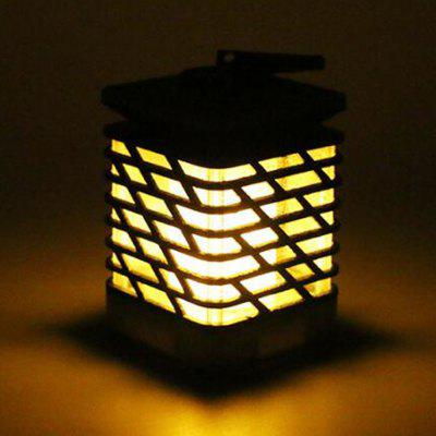 Outdoor Garden Solar Energy Flame Lamp Waterproof Grade IP55