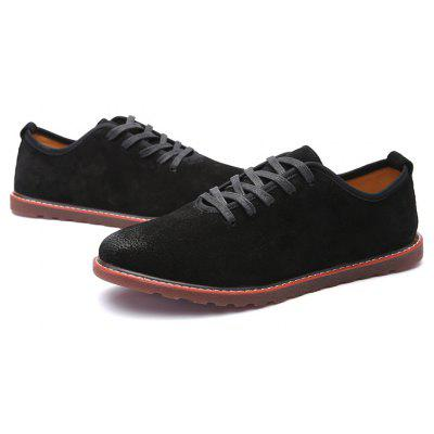 Solid Low Vamp Casual Leather ShoesCasual Shoes<br>Solid Low Vamp Casual Leather Shoes<br><br>Available Size: 39 40 41 42 43 44<br>Closure Type: Lace-Up<br>Embellishment: None<br>Gender: For Men<br>Outsole Material: Rubber<br>Package Contents: 1?Shoes(pair)<br>Pattern Type: Others<br>Season: Spring/Fall<br>Toe Shape: Round Toe<br>Toe Style: Closed Toe<br>Upper Material: PU<br>Weight: 1.0200kg
