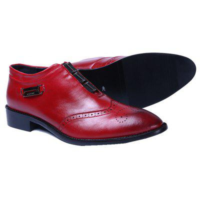 British Men Inner High Heel Leisure Leather ShoesCasual Shoes<br>British Men Inner High Heel Leisure Leather Shoes<br><br>Available Size: 39 40 41 42 43 44<br>Closure Type: Slip-On<br>Embellishment: Metal<br>Gender: For Men<br>Outsole Material: Rubber<br>Package Contents: 1?Shoes(pair0<br>Pattern Type: Others<br>Season: Spring/Fall<br>Toe Shape: Pointed Toe<br>Toe Style: Closed Toe<br>Upper Material: Cow Split<br>Weight: 1.0200kg