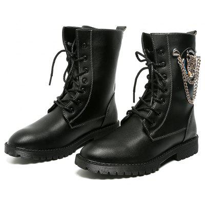 "High Vamp Men Fashion Leather BootsMens Boots<br>High Vamp Men Fashion Leather Boots<br><br>Boot Height: Ankle<br>Boot Type: Fashion Boots<br>Closure Type: Lace-Up<br>Embellishment: Metal<br>Gender: For Men<br>Heel Hight: Low(0.75""-1.5"")<br>Heel Type: Flat Heel<br>Outsole Material: Rubber<br>Package Contents: 1?Shoes(pair)<br>Pattern Type: Others<br>Season: Spring/Fall<br>Toe Shape: Round Toe<br>Upper Material: PU<br>Weight: 1.0200kg"