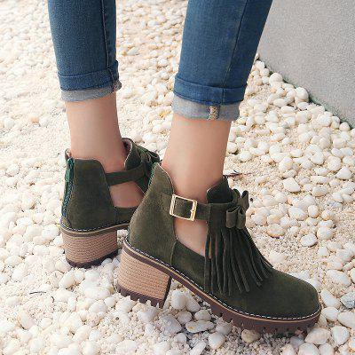 Womens Shoes Winter Fashion Sweet Round Toe Booties Ankle Boots Buckle TasselWomens Boots<br>Womens Shoes Winter Fashion Sweet Round Toe Booties Ankle Boots Buckle Tassel<br><br>Boot Height: Ankle<br>Boot Tube Circumference: 26<br>Boot Tube Height: 10<br>Boot Type: Western<br>Closure Type: Zip<br>Embellishment: Tassel<br>Gender: For Women<br>Heel Height: 5<br>Heel Height Range: Med(1.75-2.75)<br>Heel Type: Stiletto Heel<br>Insole Material: PU<br>Lining Material: PU<br>Outsole Material: Rubber<br>Package Contents: 1xShoes(pair)<br>Pattern Type: Solid<br>Platform Height: 1<br>Season: Winter<br>Shoe Width: Medium(B/M)<br>Toe Shape: Round Toe<br>Upper Material: PU<br>Weight: 1.7600kg