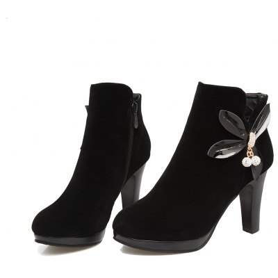 Elegant WomenS Shoes Ankle Boots Zip Chunky Heel Platform Flower BootiesWomens Boots<br>Elegant WomenS Shoes Ankle Boots Zip Chunky Heel Platform Flower Booties<br><br>Boot Height: Ankle<br>Boot Tube Circumference: 30<br>Boot Tube Height: 10<br>Boot Type: Fashion Boots<br>Closure Type: Zip<br>Embellishment: Flowers<br>Gender: For Women<br>Heel Height: 6.5<br>Heel Height Range: Med(1.75-2.75)<br>Heel Type: Chunky Heel<br>Insole Material: PU<br>Lining Material: PU<br>Outsole Material: Rubber<br>Package Contents: 1xShoes(pair)<br>Pattern Type: Floral<br>Platform Height: 1<br>Season: Winter<br>Shoe Width: Medium(B/M)<br>Toe Shape: Round Toe<br>Upper Material: PU<br>Weight: 1.8480kg