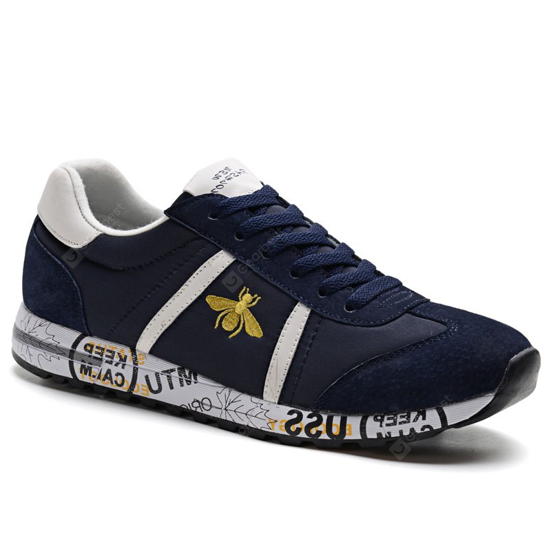 Sneaker Gym Sports pour Hommes Bee Pattern Chaussures