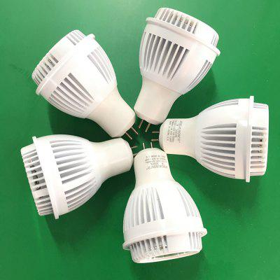 GU10 7W Dimmable COB lâmpadas LED 5PCS