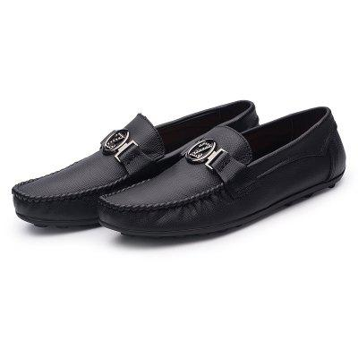 Loafers Business Peas Shoes Fashion Drive Casual Breathable Male British SneakersCasual Shoes<br>Loafers Business Peas Shoes Fashion Drive Casual Breathable Male British Sneakers<br><br>Available Size: 36-44<br>Closure Type: Lace-Up<br>Embellishment: None<br>Gender: For Men<br>Outsole Material: Rubber<br>Package Contents: 1?Shoes(pair)<br>Pattern Type: Solid<br>Season: Summer, Winter, Spring/Fall<br>Toe Shape: Round Toe<br>Toe Style: Closed Toe<br>Upper Material: PU<br>Weight: 1.2000kg
