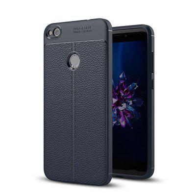 Shockproof Back Cover Solid Color Soft TPU Case for Huawei P8 Lite (2017)