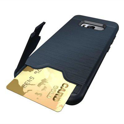 Card Holder with Stand Back Cover Solid Color Hard PC Case for Samsung Galaxy S8Samsung S Series<br>Card Holder with Stand Back Cover Solid Color Hard PC Case for Samsung Galaxy S8<br><br>Color: Rose Gold,Black,Gray,Dark blue,Light Green<br>Compatible with: Samsung Galaxy S8<br>Features: Back Cover, Cases with Stand, With Credit Card Holder, Anti-knock<br>For: Samsung Mobile Phone<br>Material: PC, TPU<br>Package Contents: 1 x Phone Case<br>Package size (L x W x H): 20.00 x 11.50 x 1.00 cm / 7.87 x 4.53 x 0.39 inches<br>Package weight: 0.0500 kg<br>Style: Solid Color, Stripe Pattern