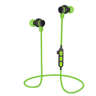 Wireless Bluetooth Headset Stereo Headphones Earbuds with Mic TF Card Slot