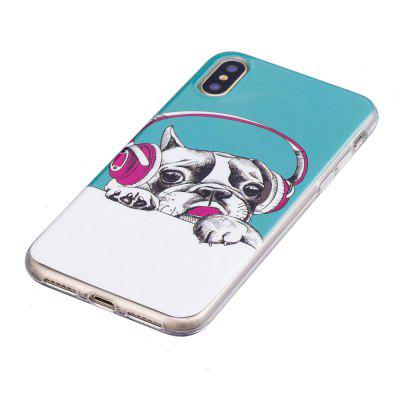 TPU Material Dog Pattern High Penetration Luminous Phone Case for iPhone X  -  COLORFULiPhone Cases/Covers<br>TPU Material Dog Pattern High Penetration Luminous Phone Case for iPhone X  -  COLORFUL<br><br>Features: Back Cover<br>Material: TPU<br>Package Contents: 1 x Phone Case<br>Package size (L x W x H): 14.80 x 7.10 x 1.20 cm / 5.83 x 2.8 x 0.47 inches<br>Package weight: 0.0200 kg<br>Product size (L x W x H): 14.70 x 7.00 x 1.00 cm / 5.79 x 2.76 x 0.39 inches<br>Product weight: 0.0200 kg<br>Style: Novelty