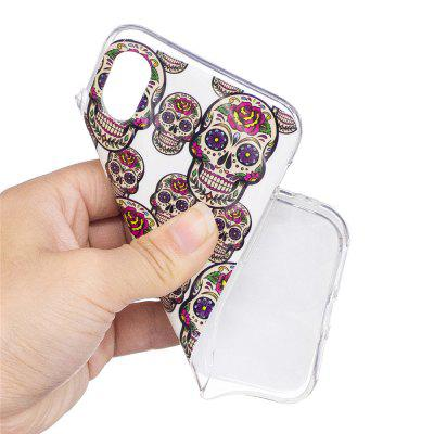 Fluorescence Noctilucent TPU Luminous Back Cover Case for iPhone X - SkeletoniPhone Cases/Covers<br>Fluorescence Noctilucent TPU Luminous Back Cover Case for iPhone X - Skeleton<br><br>Color: Assorted Colors,Off-white,Red<br>Compatible for Apple: iPhone X<br>Features: Back Cover<br>Material: TPU<br>Package Contents: 1 x Phone Case<br>Package size (L x W x H): 14.80 x 7.10 x 1.10 cm / 5.83 x 2.8 x 0.43 inches<br>Package weight: 0.0200 kg<br>Product size (L x W x H): 14.70 x 7.00 x 1.00 cm / 5.79 x 2.76 x 0.39 inches<br>Style: Cool Skulls, Funny, Cartoon, Skull, Anime, Pattern