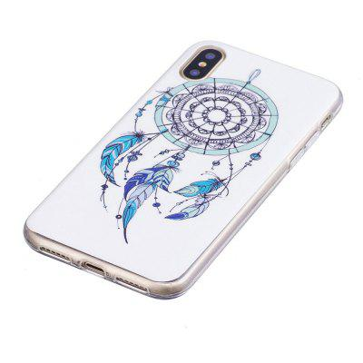 TPU Material Feather Dreamcatcher  Pattern High Penetration Luminous Phone Case for iPhone XiPhone Cases/Covers<br>TPU Material Feather Dreamcatcher  Pattern High Penetration Luminous Phone Case for iPhone X<br><br>Color: White,Blue,Green<br>Compatible for Apple: iPhone X<br>Features: Back Cover<br>Material: TPU<br>Package Contents: 1 x Phone Case<br>Package size (L x W x H): 14.90 x 7.30 x 1.30 cm / 5.87 x 2.87 x 0.51 inches<br>Package weight: 0.0200 kg<br>Product size (L x W x H): 14.80 x 7.10 x 1.10 cm / 5.83 x 2.8 x 0.43 inches<br>Style: Colorful, Dream Catcher
