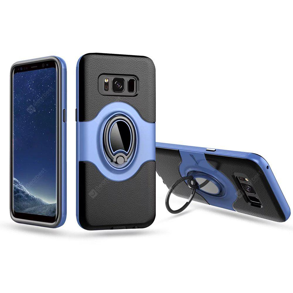 For Samsung S8 Magnetic Ring Support Mobile Phone Protection Shell