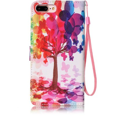 Painted PU Phone Case for iPhone 7 Plus / 8 PlusiPhone Cases/Covers<br>Painted PU Phone Case for iPhone 7 Plus / 8 Plus<br><br>Compatible for Apple: iPhone 7 Plus, iPhone 8 Plus<br>Features: Dirt-resistant, With Lanyard, With Credit Card Holder, Cases with Stand<br>Material: PU Leather<br>Package Contents: 1 x Phone Case<br>Package size (L x W x H): 16.00 x 8.00 x 1.80 cm / 6.3 x 3.15 x 0.71 inches<br>Package weight: 0.0760 kg<br>Style: Novelty