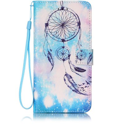 Buy WINDSOR BLUE Painted PU Phone Case for iPhone 7 Plus / 8 Plus for $4.81 in GearBest store