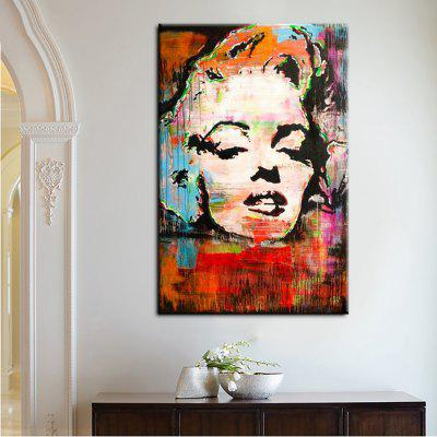 Buy COLORMIX YHHP Canvas Print Pop Characters Monroe Wall Decor for Home Decoration for $12.79 in GearBest store