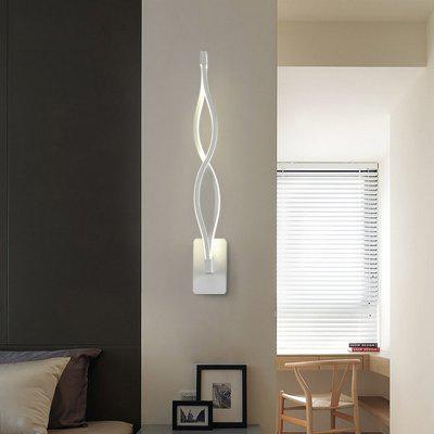 Ever-Flower 16W Modern Contemporary LED Wall Sconces Light for Living Room Bedroom