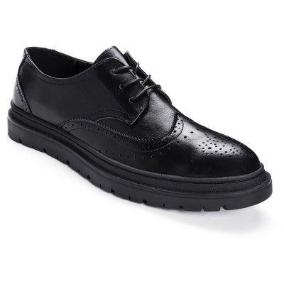 Scarpe in pelle di moda Leisure Brogue