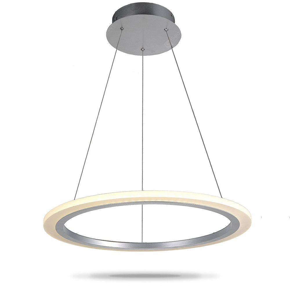 Round Ring LED Acrylic Pendant Light Indoor Home Lighting - $115.33 ...