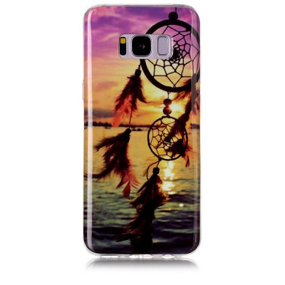 Buy MULTICOLOR Dreamcatcher Pattern Soft TPU Anti-scratch Back Cover Case for Samsung Galaxy S8 for $5.00 in GearBest store