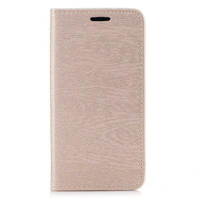 Wood Grain Flip Magnetic PU Leather Phone Cover Case for Samsung Galaxy J3 2016