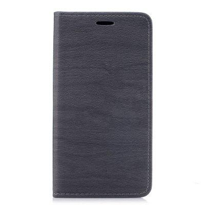 Wood Grain Flip Magnetic PU Leather Phone Cover Case for Samsung Galaxy J5 2016 J510