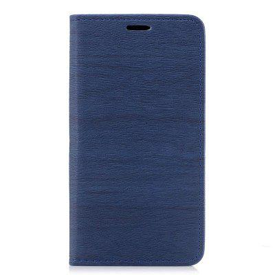 Wood Grain Flip Magnetic PU Leather Phone Cover Case for Samsung Galaxy J7 2016 J710