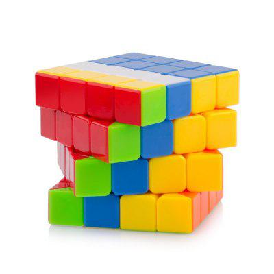 Купить со скидкой 4x4x4 Speed Cube Smooth Magic Cube Puzzles Toys 60mm