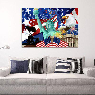 Buy COLORMIX YHHP Canvas Print Statue of Liberty Wall Decor for Home Decoration for $16.27 in GearBest store