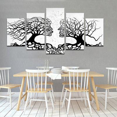 YHHP Love Acacia Rachii Canvas Print for Home Decoration 5PCS