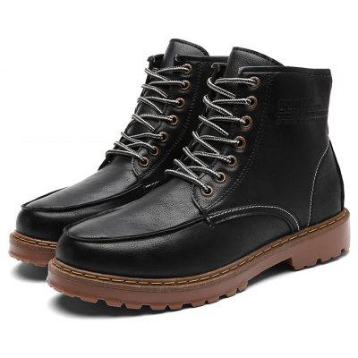 "Men Fashion Retro BootsMens Boots<br>Men Fashion Retro Boots<br><br>Boot Height: Ankle<br>Boot Type: Fashion Boots<br>Closure Type: Lace-Up<br>Embellishment: None<br>Gender: For Men<br>Heel Hight: Low(0.75""-1.5"")<br>Heel Type: Flat Heel<br>Outsole Material: Rubber<br>Package Contents: 1?Shoes(pair)<br>Pattern Type: Others<br>Season: Spring/Fall<br>Toe Shape: Round Toe<br>Upper Material: PU<br>Weight: 1.0200kg"