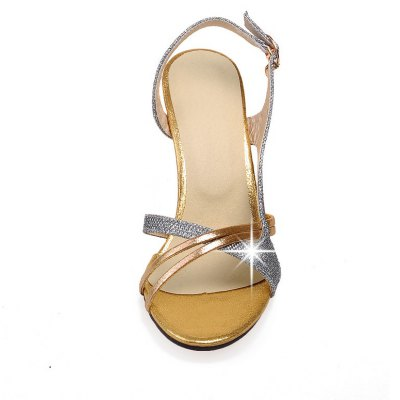 Women Shoes Buckle Strap Dress Elegant Patch SandalsWomens Sandals<br>Women Shoes Buckle Strap Dress Elegant Patch Sandals<br><br>Available Color: Golden silver<br>Available Size: 34-43<br>Closure Type: Buckle Strap<br>Embellishment: Metal<br>Gender: For Women<br>Heel Height: 8<br>Heel Height Range: High(3-3.99)<br>Heel Type: Stiletto Heel<br>Insole Material: PU<br>Lining Material: PU<br>Occasion: Dress<br>Outsole Material: Rubber<br>Package Content: 1xShoes(pair)<br>Pattern Type: Checkered<br>Platform Height: 1<br>Sandals Style: Ankle Strap<br>Shoe Width: Medium(B/M)<br>Style: Sexy<br>Upper Material: PU<br>Weight: 1.7600kg