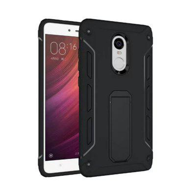 Shockproof with Stand Back Cover Contrast Color Hard Case for Redmi Note 4X / Note 4