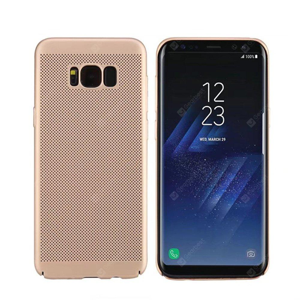 Heat Dissipation Ultra-thin Frosted Back Cover Solid Color Hard PC Case for Samsung Galaxy S8 Plus