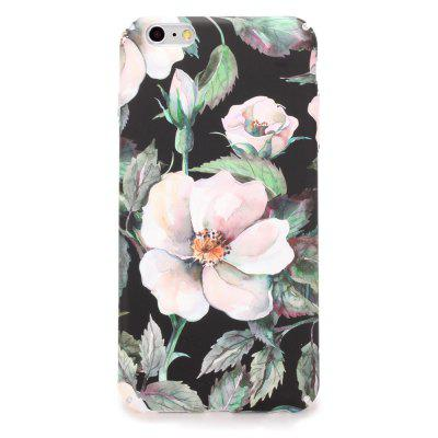Buy PINK Pink Flower Series PC Case Cover for iPhone 7 / 8 for $3.43 in GearBest store