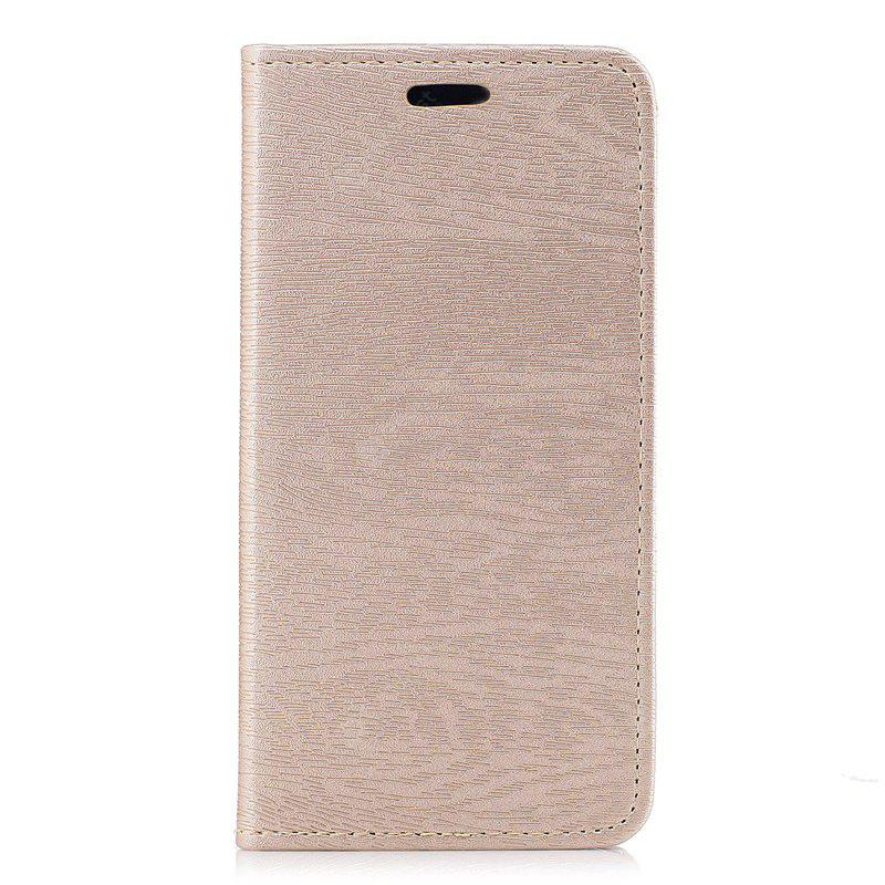 Wood Grain Flip Magnetic PU Leather Phone Cover for Samsung Galaxy J3 2017 J330 EU