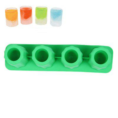 Cup Shape Ice Tray Silicone Mold