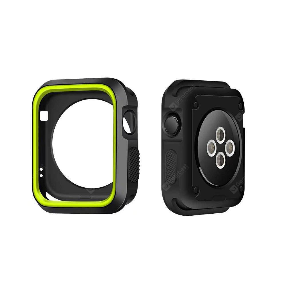 Custodia in Silicone per 38mm Apple Watch Series 3 Series 2 Series 1