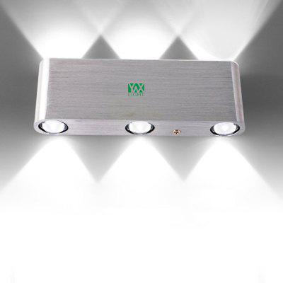 YWXLight 6W Indoor Lighting LED Wall Lamp AC 110 - 240V