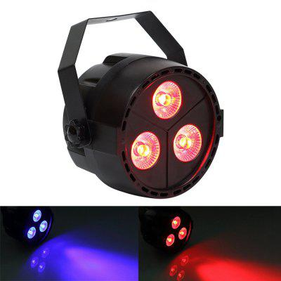 Buy BLACK U'King ZQ B188 15W 3LEDs RGB Purple Par Light Stage Effect Lighting for Disco Party Club KTV Wedding for $20.61 in GearBest store