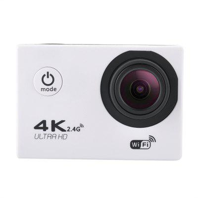 F60B 16MP 4K FHD 1080P 2.0 LCD WIFI Waterproof 30M Action Sports CameraAction Cameras<br>F60B 16MP 4K FHD 1080P 2.0 LCD WIFI Waterproof 30M Action Sports Camera<br><br>Aerial Photography: Yes<br>Anti-shake: Yes<br>Application: Bike, Ski, Motorcycle, Underwater, Aerial Photography, Extreme Sports<br>Auto Focusing: Yes<br>Auto-Power On: Yes<br>Battery Capacity (mAh): 900<br>Battery Type: Removable<br>Camera Pixel: 16M<br>Camera Timer: Yes<br>Charge way: AC adapter,USB charge by PC,Car charger<br>Class Rating Requirements: Class 10 or Above<br>Delay Shutdown: Yes<br>Exposure Compensation: -3.0~3.0<br>FPV Output: Yes<br>Frequency: Auto,50Hz,60Hz<br>Function: FPV Output, WiFi, Auto Focusing, Camera Timer, Loop-cycle Recording, WDR, Remote Control, Waterproof<br>HDMI Output: Yes<br>Image Format: JPEG<br>Image resolutions: 4032 x 3024 (12MP), 3200 x 2400 (8MP), 3648 x 2736 (10MP), 4608 x 3456 (16M)<br>Interface Type: Micro USB, Micro HDMI, External storage card slot<br>ISO: Auto,ISO100,ISO200<br>Language: English,French,Russian,German,Italian,Simplified Chinese,Traditional Chinese,Japanese,Korean<br>Loop-cycle Recording: Yes<br>Loop-cycle Recording Time: OFF,10min,1min,3min,2min,5min<br>Max External Card Supported: SDHC 32G (not included)<br>Microphone: Built-in<br>Model: F60B<br>Motion Detection: Yes<br>Package Contents: 1 ? Waterproof Housing?1 ? battery?1 ? Quick Release Buckle?3 ? 3-Way Pivot Arm Mount?1 ? Handlebar Pole Mount?1 ? USB cable?1 ? Back splint?4 ? ribbon?1 ?  Cleaning Cloth?4 ? bandage?2 ? Adapter?2 ?<br>Package size (L x W x H): 16.00 x 6.00 x 26.50 cm / 6.3 x 2.36 x 10.43 inches<br>Package weight: 0.2870 kg<br>Product size (L x W x H): 6.00 x 2.50 x 4.00 cm / 2.36 x 0.98 x 1.57 inches<br>Product weight: 0.0190 kg<br>Screen: With Screen<br>Screen size: 2.0inch<br>Screen type: LCD<br>Sensor: CMOS<br>Sensor Brand: Sony<br>Standby time: 900 minutes<br>System requirements: Windows 2000 / XP / Vista,Win 7<br>Time Stamp: Yes<br>Type: Sports Camera, Head Camera,