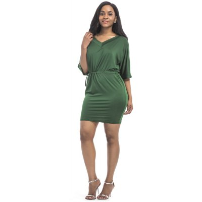 Womens Dress V Neck Half Sleeve Solid Midi DressMini Dresses<br>Womens Dress V Neck Half Sleeve Solid Midi Dress<br><br>Dresses Length: Mini<br>Elasticity: Super-elastic<br>Fabric Type: Broadcloth<br>Material: Polyester<br>Neckline: V-Neck<br>Package Contents: 1 x Dress<br>Pattern Type: Solid<br>Season: Summer<br>Silhouette: Straight<br>Sleeve Length: Half Sleeves<br>Style: Casual<br>Weight: 0.1500kg<br>With Belt: No