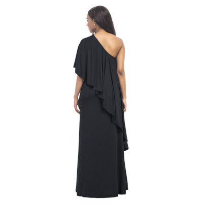 Womens One Shoulder Solid Color Maxi Long DressPlus Size Dresses<br>Womens One Shoulder Solid Color Maxi Long Dress<br><br>Dresses Length: Ankle-Length<br>Elasticity: Super-elastic<br>Fabric Type: Broadcloth<br>Material: Spandex, Polyester<br>Neckline: Skew Collar<br>Package Contents: 1 x Dress<br>Pattern Type: Solid<br>Season: Fall<br>Silhouette: Straight<br>Sleeve Length: Sleeveless<br>Style: Casual<br>Weight: 0.3000kg<br>With Belt: No