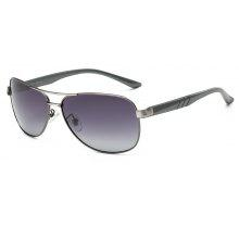 TOMYE 9175 Al-Mg Alloy Aviator Polarized Sunglasses for Men