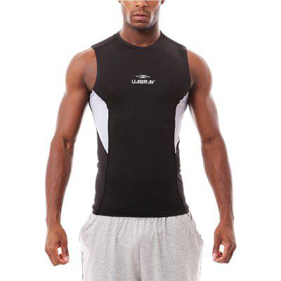 Quick-drying Wide Shoulder Sport Vest Fitness Gym Clothes Elastic Sleeveless